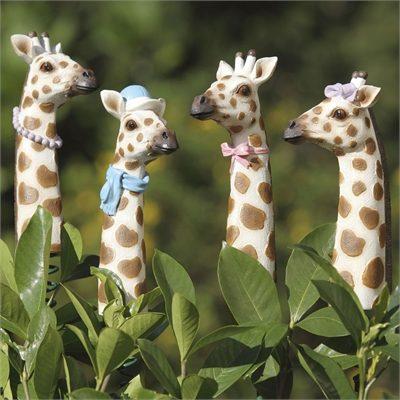 Garden Giraffes