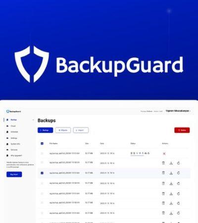 BackupGuard WordPress Plugin Lifetime Deal for $39