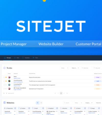 Sitejet Lifetime Deal for $59