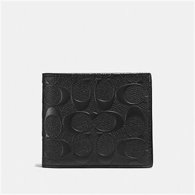 Fashion 4 - 3-IN-1 WALLET IN SIGNATURE CROSSGRAIN LEATHER