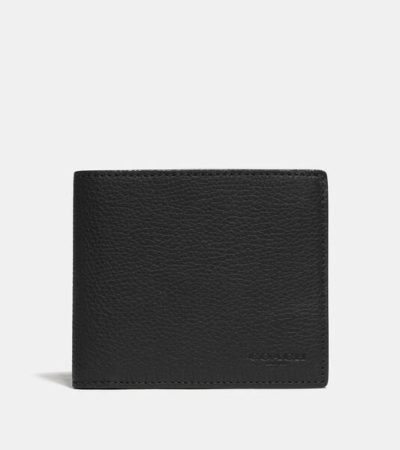 Fashion 4 - 3-In-1 Wallet With Signature Canvas Detail
