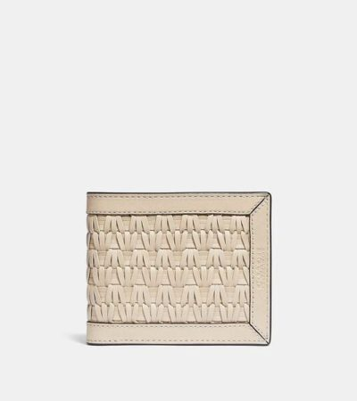 Fashion 4 - 3-In-1 Wallet With Weaving