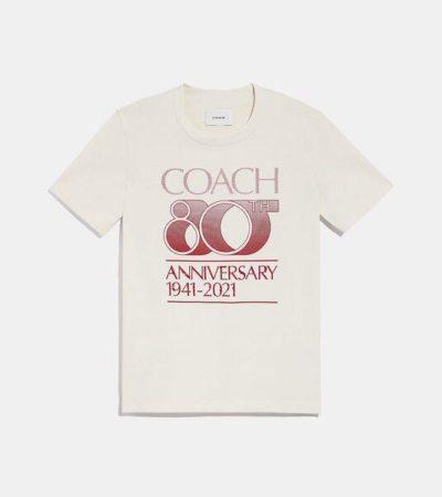 Fashion 4 - Coach 80th Anniversary T-Shirt