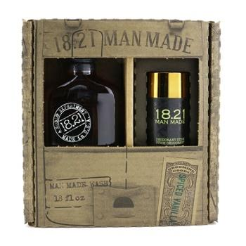 OJAM Online Shopping - 18.21 Man Made Man Made Wash & Deodorant Set - # Spiced Vanilla: 1x Shampoo