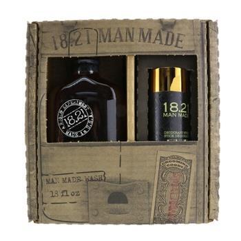 OJAM Online Shopping - 18.21 Man Made Man Made Wash & Deodorant Set - #Sweet Tobacoo: 1x Shampoo