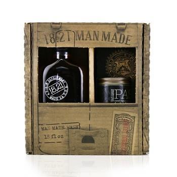 OJAM Online Shopping - 18.21 Man Made Man Made Wash & Paste Set - # Sweet Tobacco: 1x Shampoo