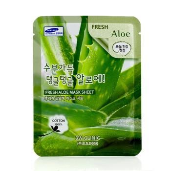 OJAM Online Shopping - 3W Clinic Mask Sheet - Fresh Aloe 10pcs Skincare