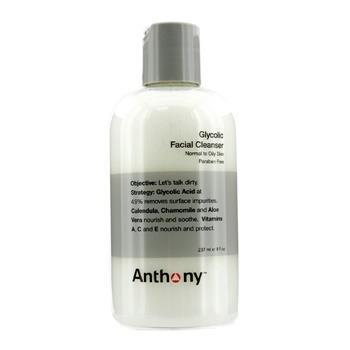 OJAM Online Shopping - Anthony Logistics For Men Glycolic Facial Cleanser - For Normal/ Oily Skin 237ml/8oz Men's Skincare