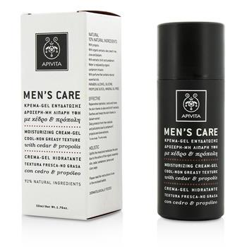 OJAM Online Shopping - Apivita Moisturizing Gel-Cream 50ml/1.7oz Men's Skincare