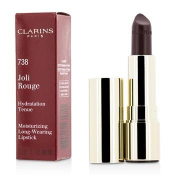 OJAM Online Shopping - Clarins Joli Rouge (Long Wearing Moisturizing Lipstick) - # 738 Royal Plum 3.5g/0.1oz Make Up