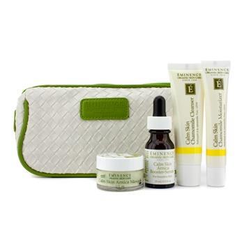 OJAM Online Shopping - Eminence Calm Skin Starter Set (For Sensitive Skin) 4pcs+1bag Skincare