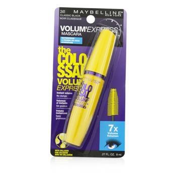 OJAM Online Shopping - Maybelline Volum' Express The Colossal Waterproof Mascara - #Classic Black 8ml/0.27oz Make Up