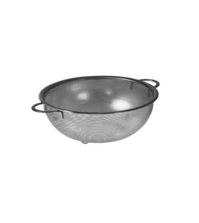 OJAM Online Shopping - Avanti 25.5cm Perforated Stainless Steel Strainer with Handles